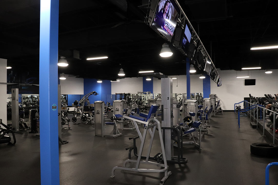 Fitness Lab facility machines