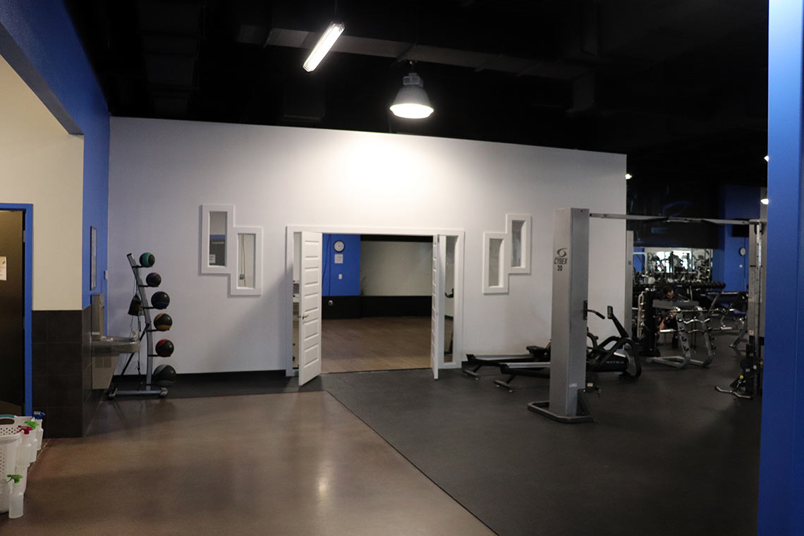 Fitness Lab facility classroom space